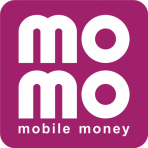 MoMo mobile money logo