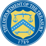United States Department of the Treasury logo